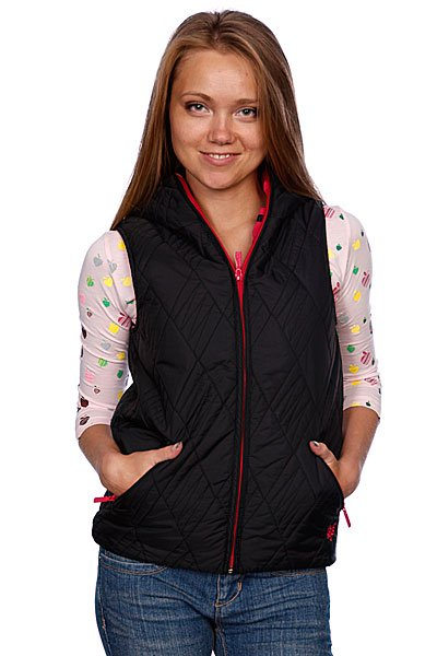 Жилет женский Zoo York Nylon Vest Black