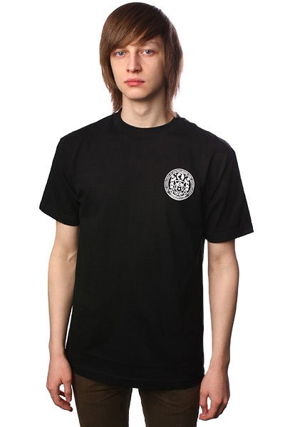 Футболка Sk8Mafia Seal<br><br>Цвет: черный<br>Тип: Футболка<br>Возраст: Взрослый<br>Пол: Мужской