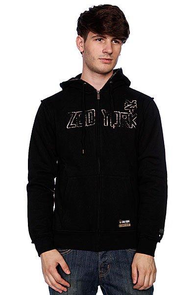 Толстовка Zoo York Electric Tape Black<br><br>Цвет: черный<br>Тип: Толстовка классическая<br>Возраст: Взрослый<br>Пол: Мужской