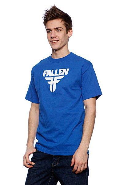 Футболка Fallen Insignia Logo Royal/White Подарок<br><br>Цвет: синий<br>Тип: Футболка<br>Возраст: Взрослый<br>Пол: Мужской