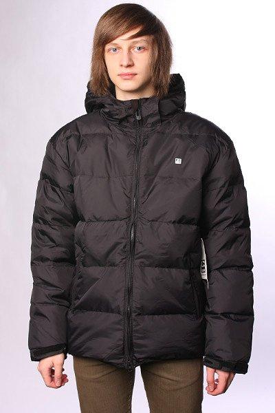 Куртка пуховик Globe United Jacked BlackСтеганая мужская куртка с утеплителем для города и активного отдыха.Технические характеристики: Стеганый дизайн.Съемный капюшон.Манжеты с регулировкой на липучках.Карманы для рук и потайной карман.Застежка на молнии по всей длине.<br><br>Цвет: черный<br>Тип: Пуховик<br>Возраст: Взрослый<br>Пол: Мужской