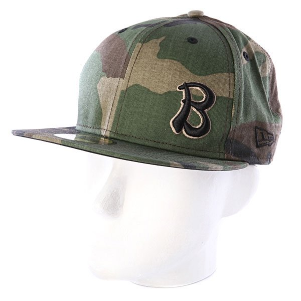 Бейсболка New Era Baker NewEra Camo Hanoi