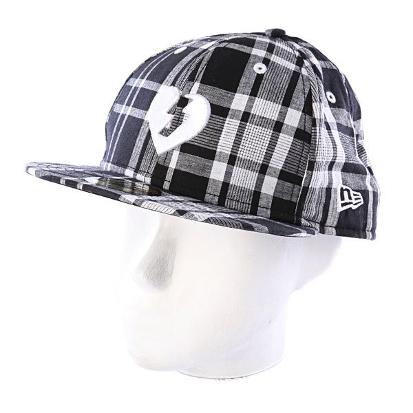 Бейсболка New Era Mystery Heart NewEra Plaid/Black/White автомобильный телевизор mystery mtv 970 black