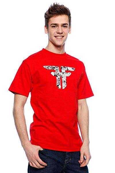 Футболка Fallen Flyers Red/Black Подарок<br><br>Тип: Футболка<br>Возраст: Взрослый<br>Пол: Мужской