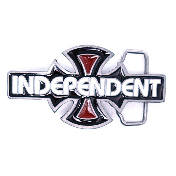 Пряжка Independent O.G.B.C. White/Black/Red
