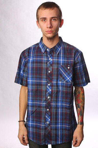 Рубашка в клетку Zoo York Heights Navy<br><br>Цвет: синий<br>Тип: Рубашка в клетку<br>Возраст: Взрослый<br>Пол: Мужской