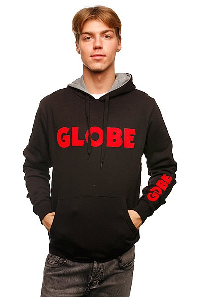 Толстовка Globe Corpo Hoodie Black<br><br>Цвет: черный<br>Тип: Толстовка классическая<br>Возраст: Взрослый<br>Пол: Мужской
