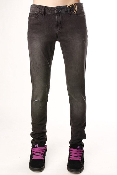Джинсы узкие женские Insight Skinny Stretch Ankle Biter Caveman Grey