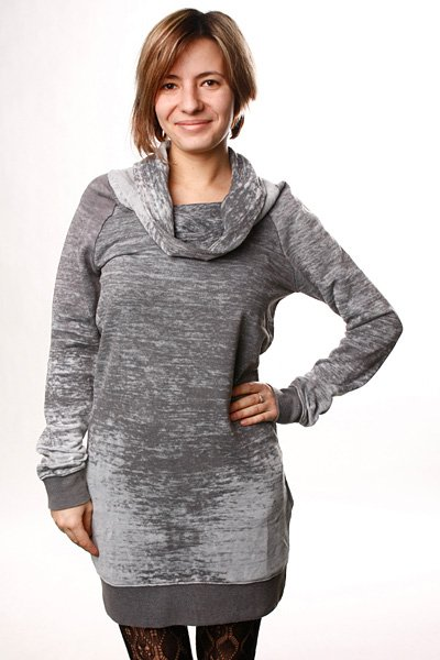 Платье женское Insight Gritty Sweater Dress Pale Grey футболка insight king of the dunes pale grey marle