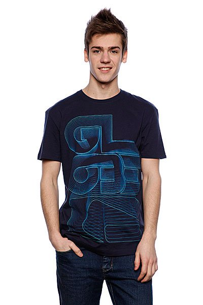 Футболка Globe Funkmaster Tee Navy<br><br>Цвет: синий<br>Тип: Футболка<br>Возраст: Взрослый<br>Пол: Мужской