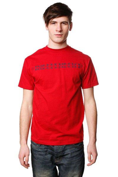 Футболка Independent Widower Cardinal Red<br><br>Цвет: красный<br>Тип: Футболка<br>Возраст: Взрослый<br>Пол: Мужской