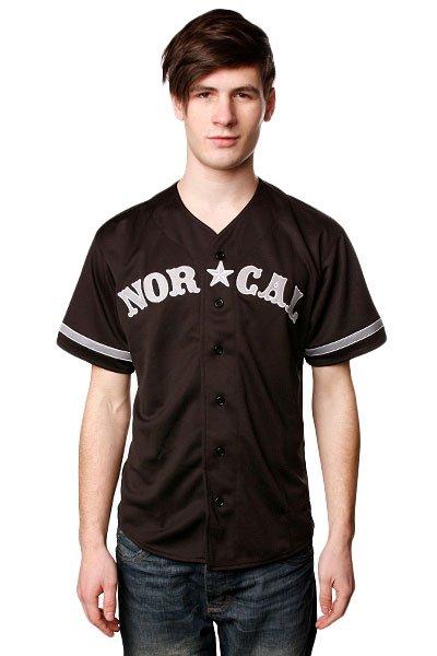Рубашка Norcal Wild Pitch Baseball Jersey Black<br><br>Цвет: черный<br>Тип: Рубашка<br>Возраст: Взрослый<br>Пол: Мужской