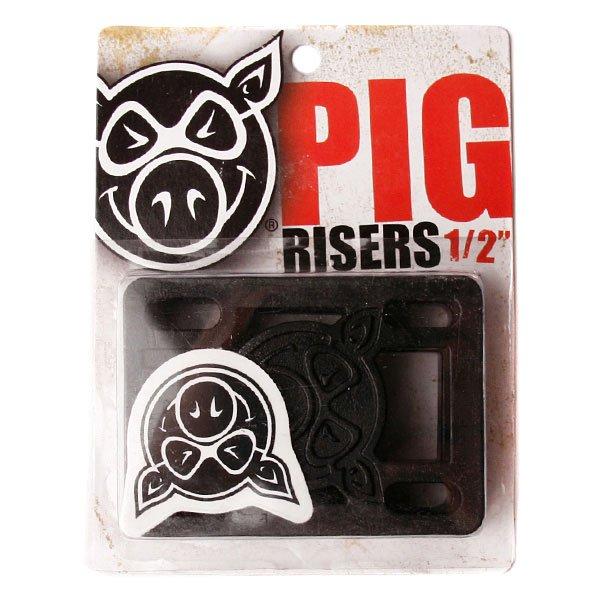 Подкладки для скейтборда Pig Riser Pad 1/2 (2 Pack)Комплект из 2 штук.<br><br>Тип: Подкладка