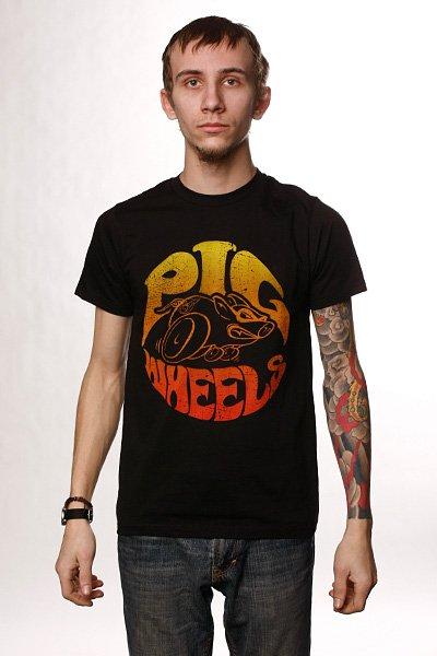 Футболка Pig Super Pig V.2 Black<br><br>Цвет: черный<br>Тип: Футболка<br>Возраст: Взрослый<br>Пол: Мужской