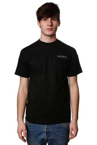 Футболка Innes Fade Pocket Black