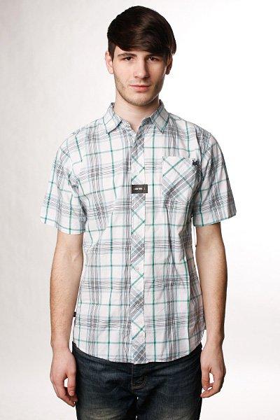 Рубашка в клетку Zoo York Pianos White<br><br>Цвет: белый<br>Тип: Рубашка в клетку<br>Возраст: Взрослый<br>Пол: Мужской