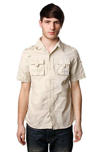 Рубашка Zoo York Chryslers Eagles Bone<br><br>Цвет: бежевый<br>Тип: Рубашка<br>Возраст: Взрослый<br>Пол: Мужской