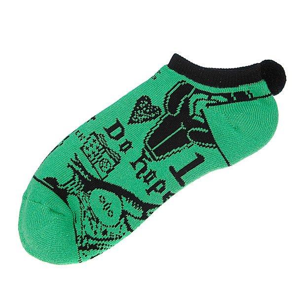 Носки низкие женские Circa Low Black Magic Lf.Green ПодарокПара носков<br><br>Тип: Носки высокие