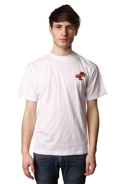 Футболка Santa Cruz Ogsc Slim Tee Knit Tops White<br><br>Цвет: белый<br>Тип: Футболка<br>Возраст: Взрослый<br>Пол: Мужской