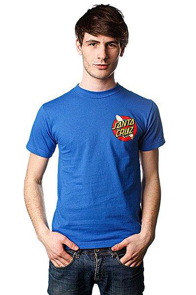 Футболка Santa Cruz No Maggots Royal Blue<br><br>Цвет: синий<br>Тип: Футболка<br>Возраст: Взрослый<br>Пол: Мужской