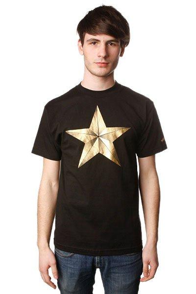 Футболка Nor Cal True Star True Black<br><br>Цвет: черный<br>Тип: Футболка<br>Возраст: Взрослый<br>Пол: Мужской