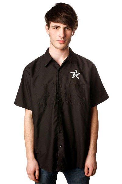 Рубашка Nor Cal Shifter Button Front True  Black<br><br>Цвет: черный<br>Тип: Рубашка<br>Возраст: Взрослый<br>Пол: Мужской