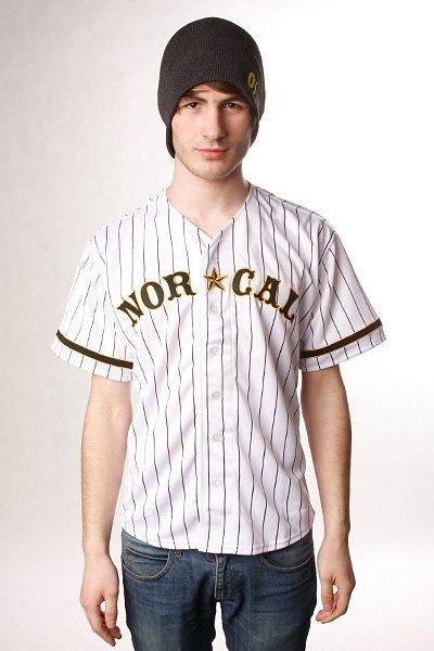 Рубашка Nor Cal Wild Pitch Baseball Jersey White/Black<br><br>Цвет: белый<br>Тип: Рубашка<br>Возраст: Взрослый<br>Пол: Мужской