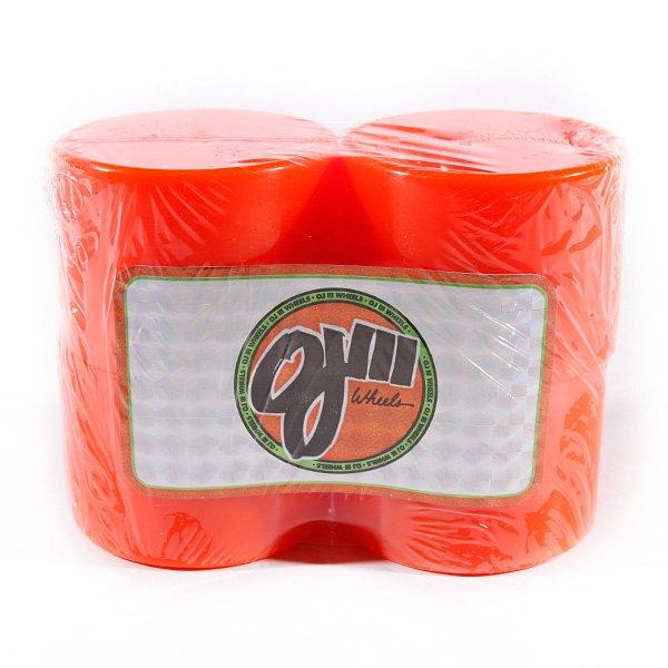 Колеса для скейтборда Oj Iii Hot Juice Orange 78A 60 mmЦена указана за комплект из 4-х колес<br><br>Тип: Колеса