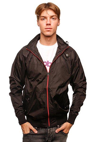 Куртка Globe Grady Jacket BlackТехнические характеристики: Верх из полиэстера с влагонепроницаемым покрытием.Без дополнительного утепления (осень/весна). Внутренняя подкладка из мягкого флиса. Застежка – молния по всей длине.Фиксированный капюшон с утяжкой.Эластичные лайкровые манжеты на рукавах и поясе. Внутренний карман на молнии.Два боковых кармана для рук. Фасон – бомбер (bomber jacket).<br><br>Цвет: черный<br>Тип: Ветровка<br>Возраст: Взрослый<br>Пол: Мужской