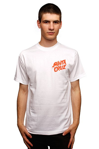 Футболка Santa Cruz Og Slasher White футболка santa cruz knot white