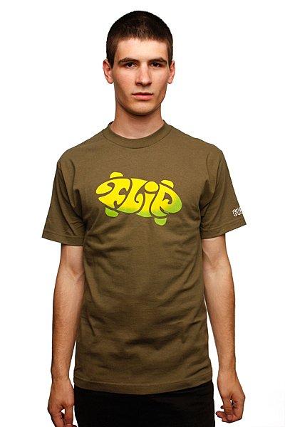Футболка Flip 360 Military Green<br><br>Цвет: зеленый<br>Тип: Футболка<br>Возраст: Взрослый<br>Пол: Мужской
