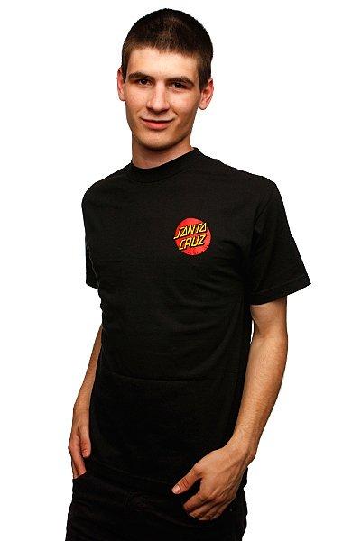 Футболка Santa Cruz Slasher Black<br><br>Цвет: черный<br>Тип: Футболка<br>Возраст: Взрослый<br>Пол: Мужской