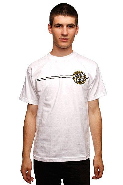 Футболка Santa Cruz Primal Dot White<br><br>Цвет: белый<br>Тип: Футболка<br>Возраст: Взрослый<br>Пол: Мужской