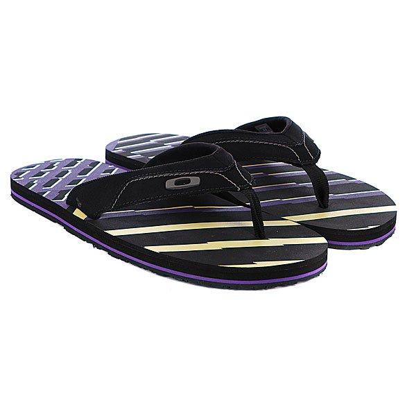 Шлепанцы Oakley O-Strap Black/Purple
