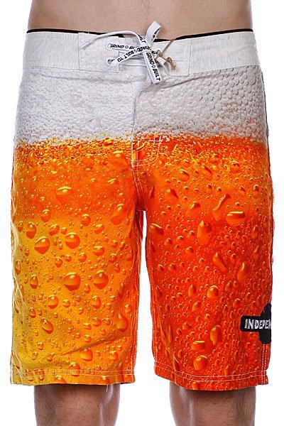 ������� ������� ����� Independent Bottoms Up Beer Print