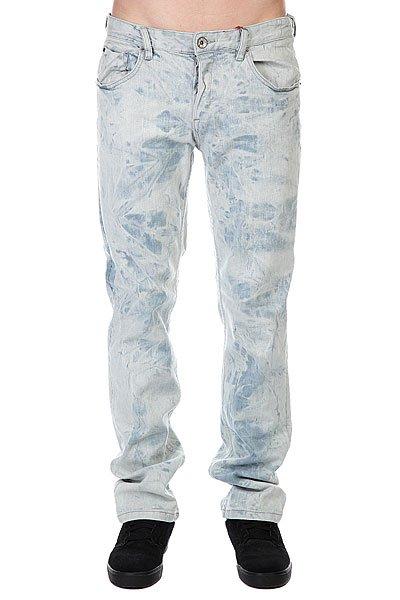 Джинсы узкие мужские зауженные Globe Sixx Jean Zephyr Blue<br><br>Цвет: белый<br>Тип: Джинсы узкие<br>Возраст: Взрослый<br>Пол: Мужской