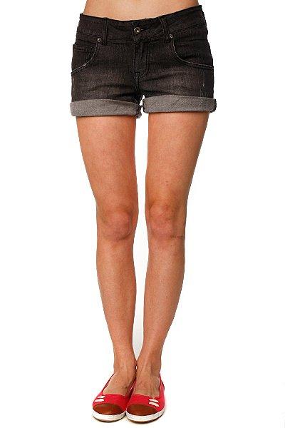 Шорты джинсовые женские Zoo York Short Grey<br><br>Цвет: черный<br>Тип: Шорты джинсовые<br>Возраст: Взрослый<br>Пол: Женский