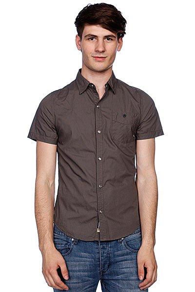 Рубашка Zoo York Tompkins Shadow<br><br>Цвет: серый<br>Тип: Рубашка<br>Возраст: Взрослый<br>Пол: Мужской