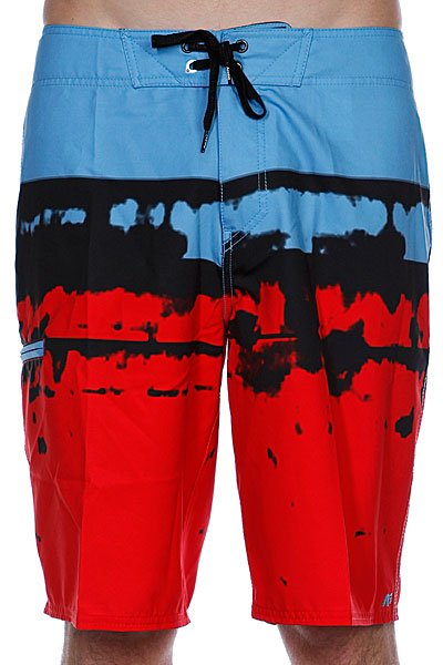 Пляжные мужские шорты Analog Dorado Brdshort Red<br><br>Цвет: красный,голубой<br>Тип: Шорты пляжные<br>Возраст: Взрослый<br>Пол: Мужской