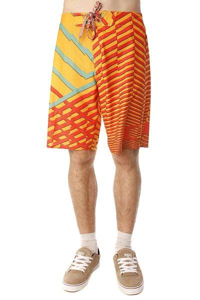 Пляжные мужские шорты Oakley Faster Boardshort Bright Orange<br><br>Цвет: оранжевый<br>Тип: Шорты пляжные<br>Возраст: Взрослый<br>Пол: Мужской