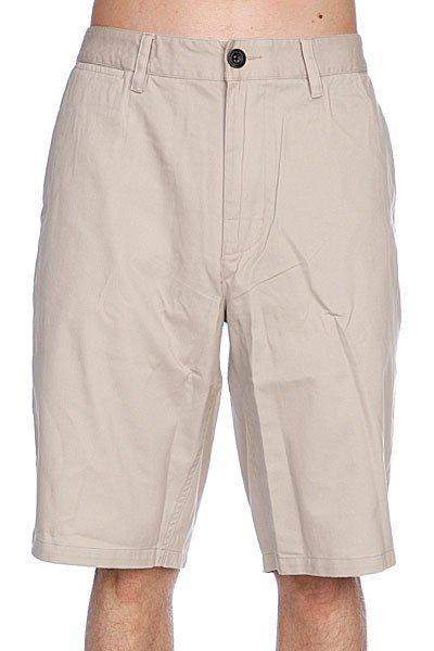 Классические мужские шорты Analog Ag Chino Short Sand<br><br>Цвет: бежевый<br>Тип: Шорты классические<br>Возраст: Взрослый<br>Пол: Мужской