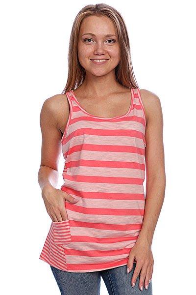 Майка женская Oakley Drift Tank Coral Pink<br><br>Цвет: розовый<br>Тип: Майка<br>Возраст: Взрослый<br>Пол: Женский