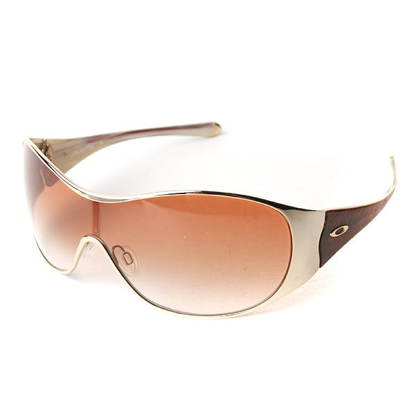 ���� ������� Oakley Breathless Polished Gold/Brown Gradient