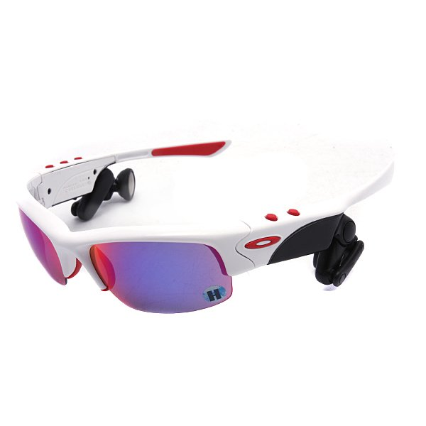 Очки женские Oakley Oakley Thump Pro White1Gbw/ Red(Mp3 Player Included)