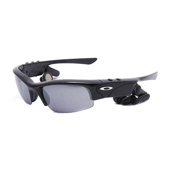 ���� Oakley Oakley Thump Pro Plshd Black/Black Iridium (Mp3 Player Included)