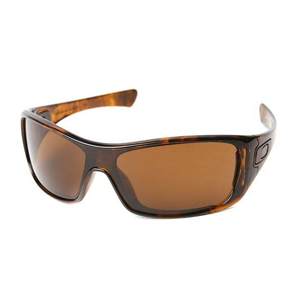 Очки женские Oakley Antix Brown Tortoise W/Dark BronzeЛегкие очки для тех, кто ведет активный образ жизни. Прочные и безопасные линзы Plutonite® гарантируют защиту для Ваших глаз каждый день.Технические характеристики: Материал оправы O Matter®, легкий и долговечный.Линзы высокой чёткости High Definition Optics®.100% защиты от УФ-лучей (UVA, UVB и UVC).Форма линзы POLARIC ELLIPSOID™ обеспечивает отличный периферийный обзор.Материал линз Plutonite® - прочный и оптически чистый.Оптическая точность и производительность линз соответствуют стандарту качества ANSI Z87.1.<br><br>Тип: Очки<br>Возраст: Взрослый<br>Пол: Женский