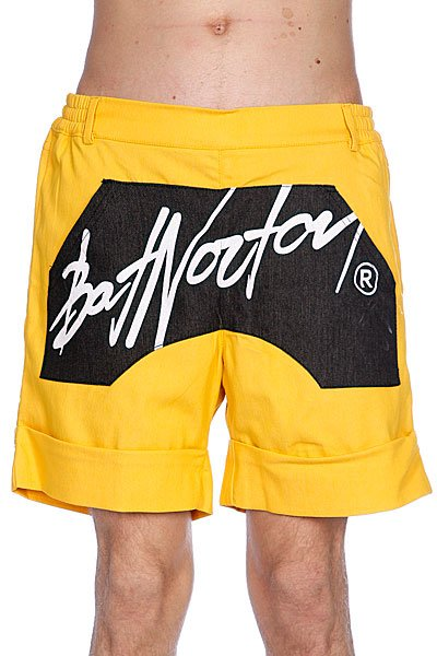 Шорты Bat Norton Unisex Basic Shorts Yellow max xl watches max xl watches 5 max492