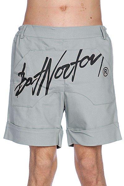 Шорты Bat Norton Unisex Basic Shorts Grey