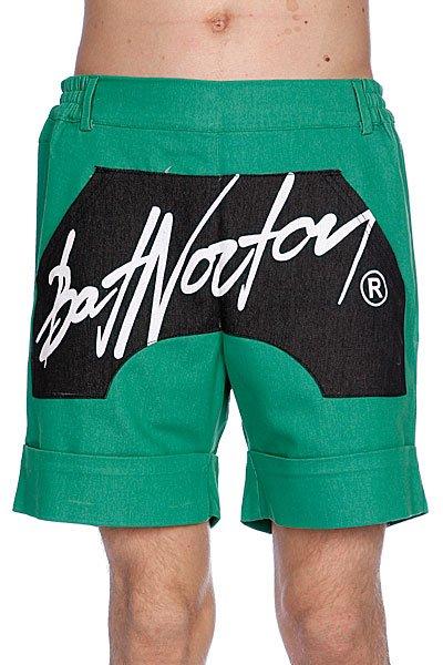 Шорты Bat Norton Unisex Basic Shorts Green<br><br>Цвет: зеленый,черный<br>Тип: Шорты<br>Возраст: Взрослый<br>Пол: Мужской