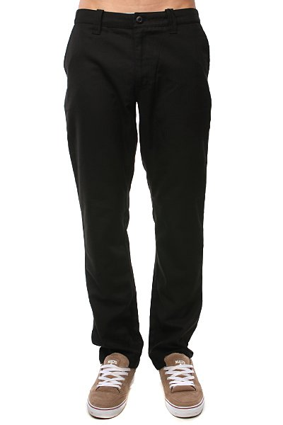 Брки Globe Ziggy Pant Black<br><br>Цвет: черный<br>Тип: Штаны прмые<br>Возраст: Взрослый<br>Пол: Мужской